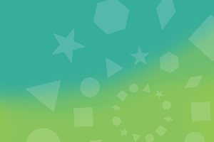 A blue and green gradient background with different geometric shapes overlaid. The shapes create circles. There are three circles that get gradually smaller and they're positioned on the lower right of the graphic and are cut off.